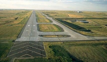 Denver International Airport's runway