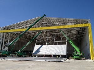 Jewers Doors Installs Largest UK Hangar Doors