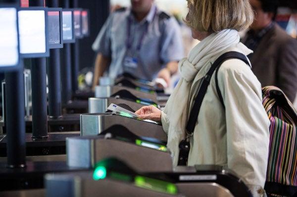 Heathrow Airport passenger technology