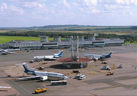 Russian airport image