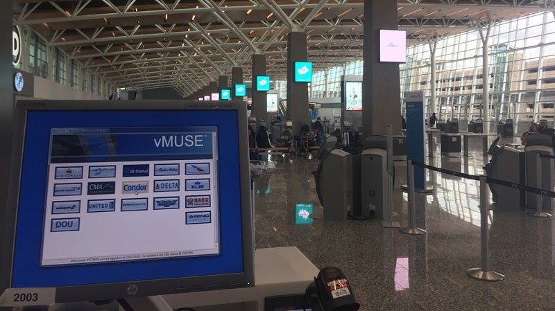 Rockwell Collins common use technology is helping passengers at YYC Calgary Airport's new International terminal.
