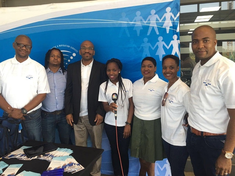 ATNS Staff attending an ICAD 2016 event at the Dube Trade Port near KSIA, Durban.