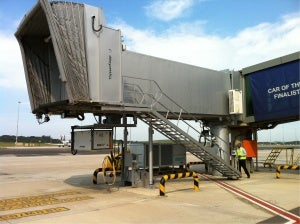 AXA Power PCA and power coil at King Shaka Airport, South Africa.