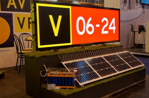 All About Signs presents a solar energy system for their taxiway guidance signs