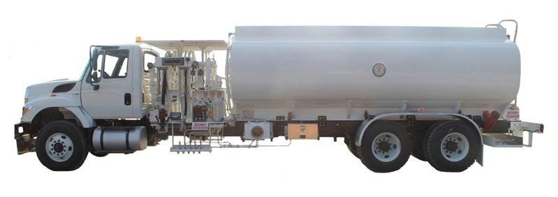 Refueller truck