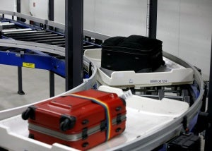 The new baggage handling system will integrate Crisplant's CrisBag tote-based transport system.