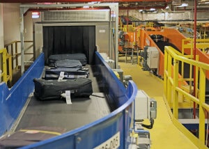 Crisplant Heathrow baggage handling services