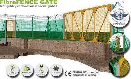Fibrefence gate