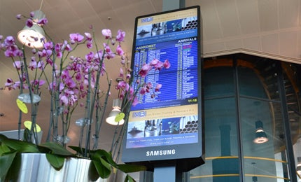 Rotterdam the Hague Airport Net Display Systems