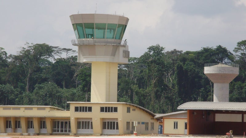 ibb airport control tower