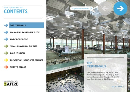 Airport Industry Review rounds up the latest industry trends, projects and technology in an interactive, digital format