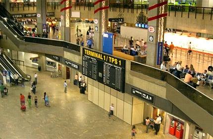 Sao Paolo Airport Terminal