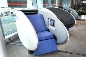 Abu Dhabi International Airport  GoSleep' Sleeping Pods