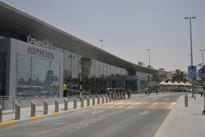 Abu Dhabi Airport Arrivals Hall