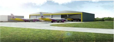 Birmingham Airport Hangar