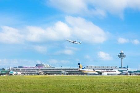 Changi Airport April passenger traffic