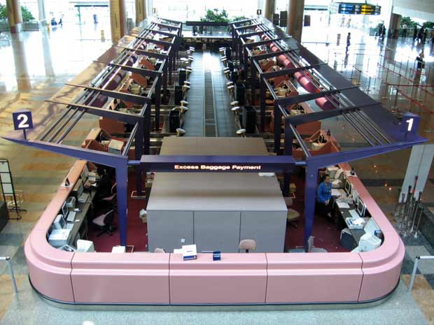 Changi airport baggage