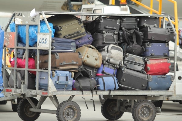 Baggage mishandling rate dropped in 2012