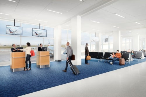 DFW Airport Revamped Terminal A