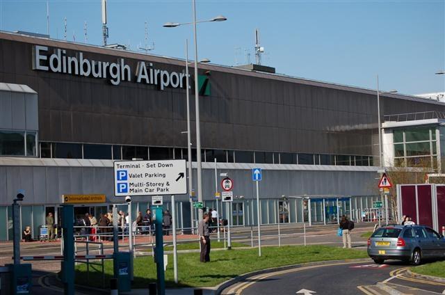 Edinburgh Airport, UK