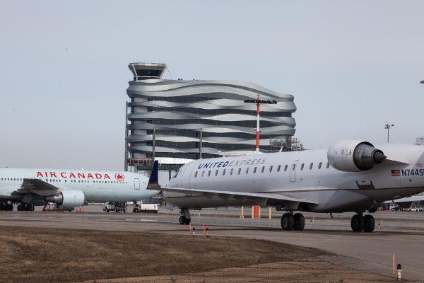 Edmonton Airport new ATC Tower