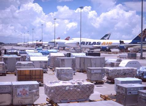 HKIA February cargo trafic