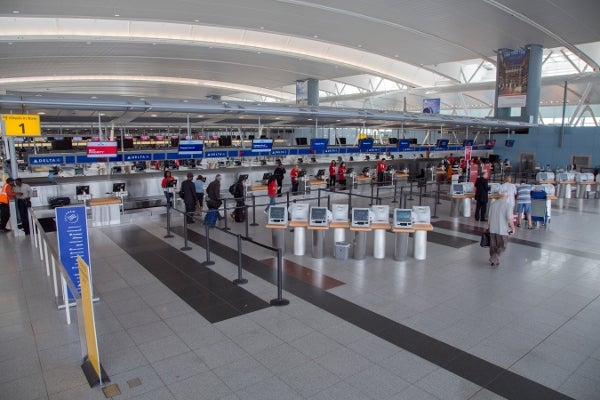 Delta Airlines' new Checkin At JFK