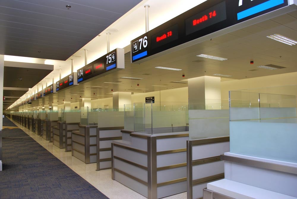 MIA International arrival facility