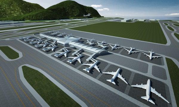 Hong Kong Airport, Midfield development