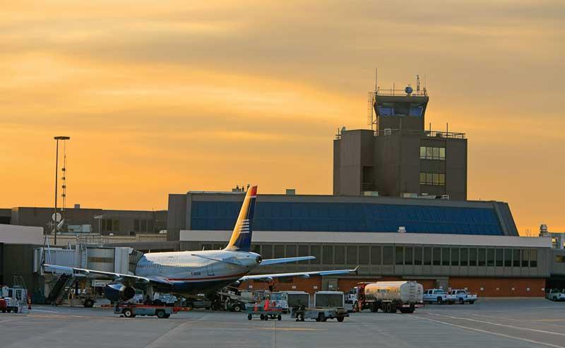 SLA international airport