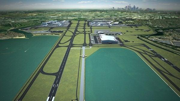 SYdney Airport runway