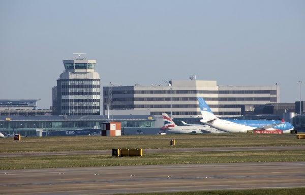 MAnchester international airport