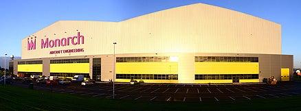 Monarch Aircraft Engineering's new hangar