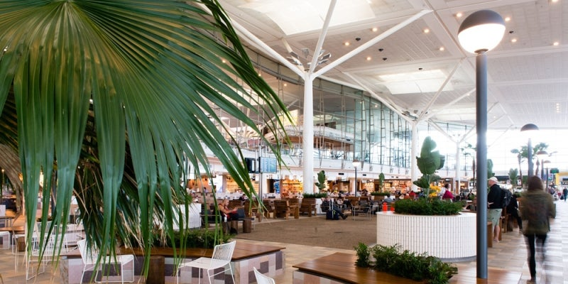 Brisbane Airport's new International terminal opened in Oct 2015