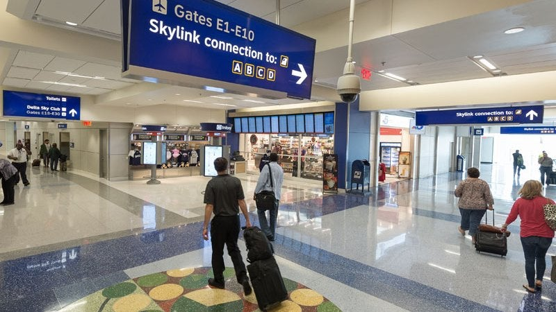 dallas fort worth airport terminal