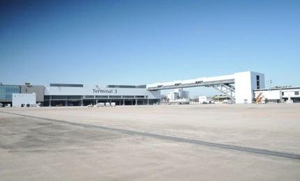 Terminal 3 at Narita