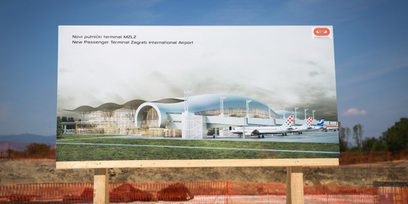 New terminal at Zagreb Int. Airport