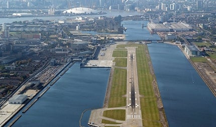 London City Airport runway