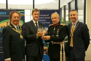 Sepura receives queens award